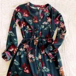 Floral Dress for Fall/Winter